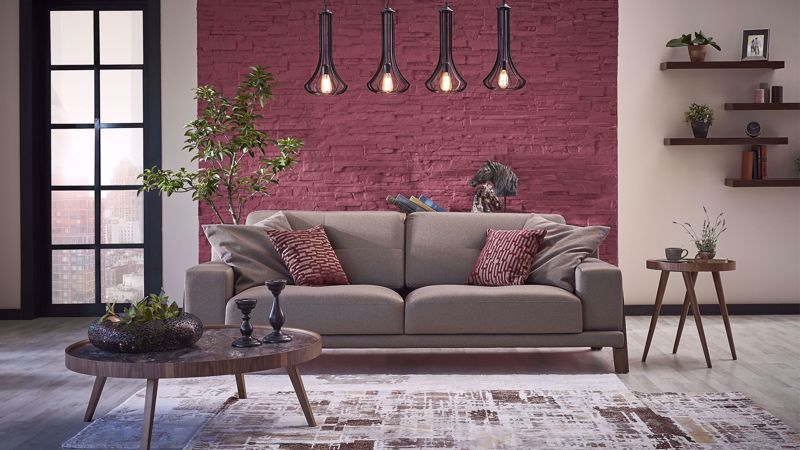 CARLINO TRIPLE SEAT SOFA