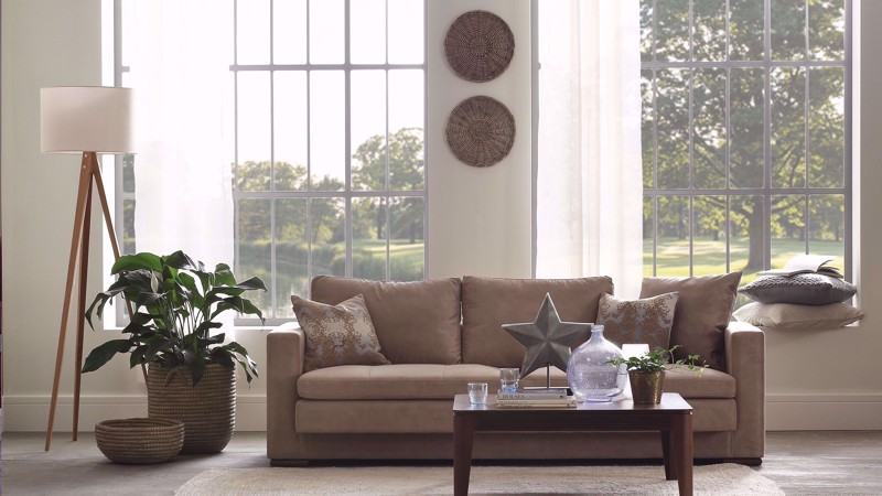 PEARL TRIPLE SEAT SOFA