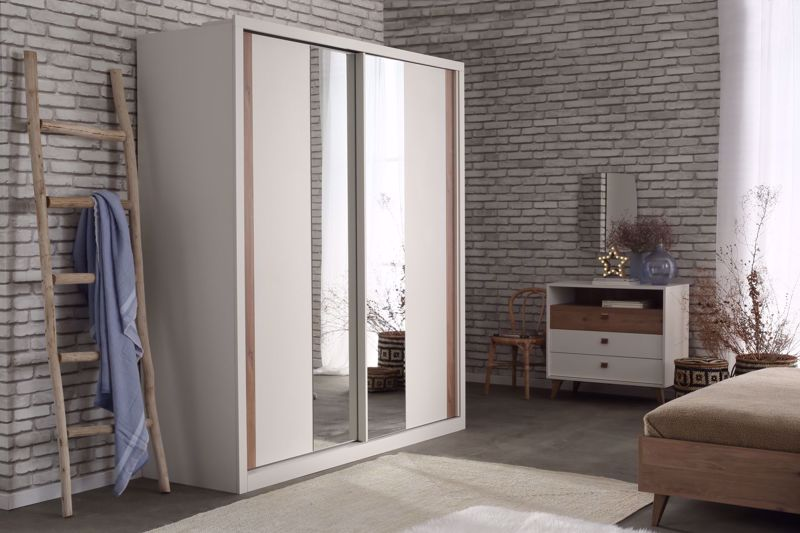 MAYER 2 SLIDING DOOR CLOSET