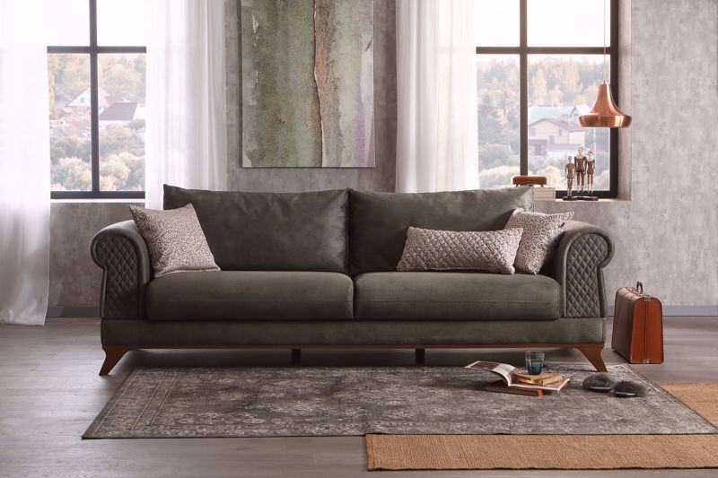 RAVENNA DOUBLE SEAT SOFA (BED TRANSFORMABLE)