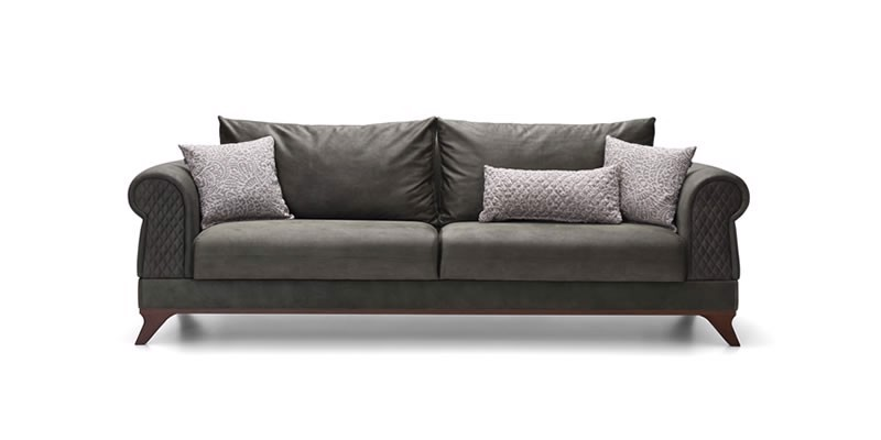 RAVENNA TRIPLE SEAT SOFA (BED TRANSFORMABLE)