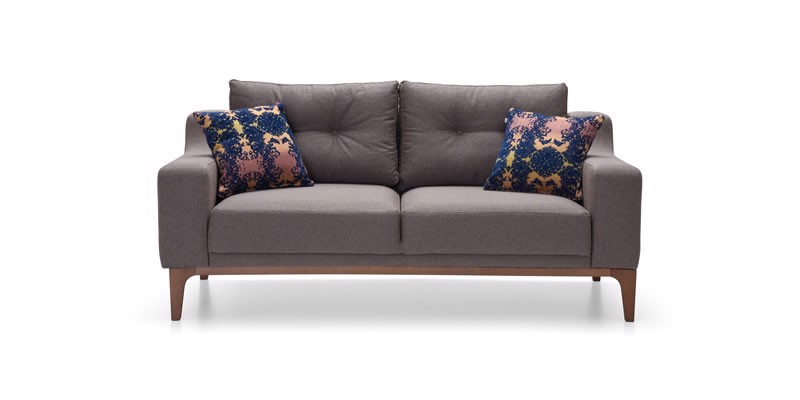 GOLD DOUBLE SEAT SOFA