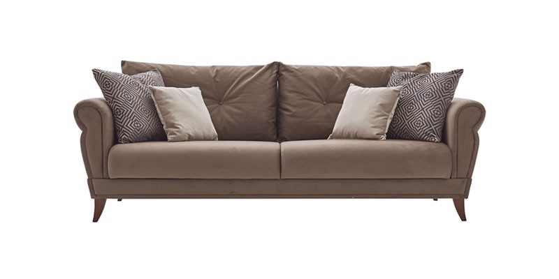 CLARISSA 3 SEAT SOFA (BED TRANSFORMABLE)
