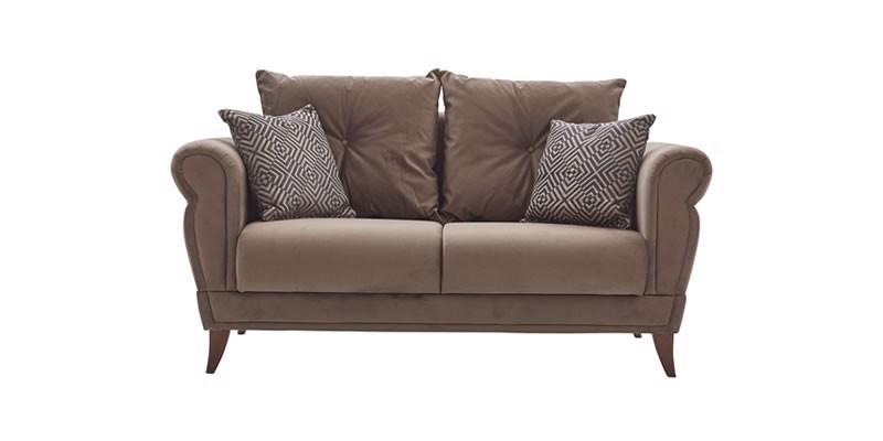 CLARISSA 2 SEAT SOFA (BED TRANSFORMABLE)