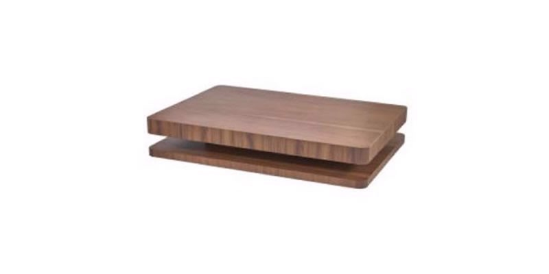 COMO MIDDLE COFFEE TABLE - WALNUT