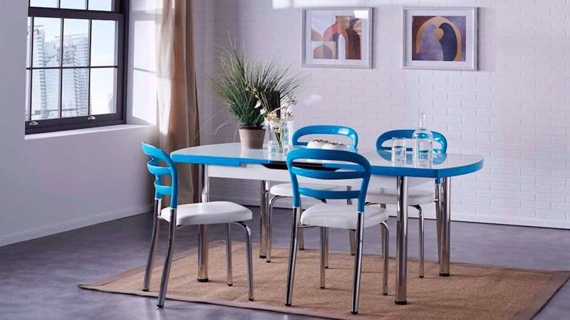 NOA KITCHEN TABLE  (WHITE)