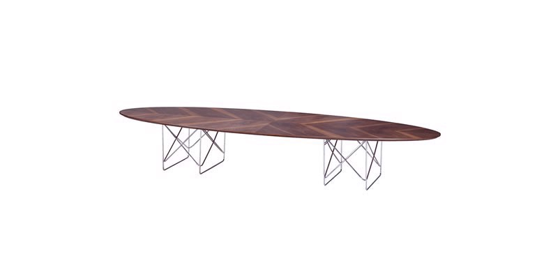 CALVIN MIDDLE COFFEE TABLE WALNUT