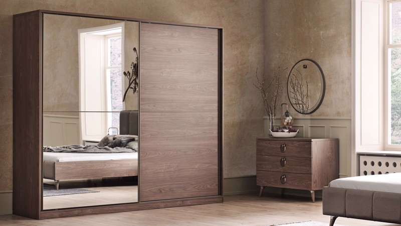 CLARA 2 DOOR SLIDING WARDROBE