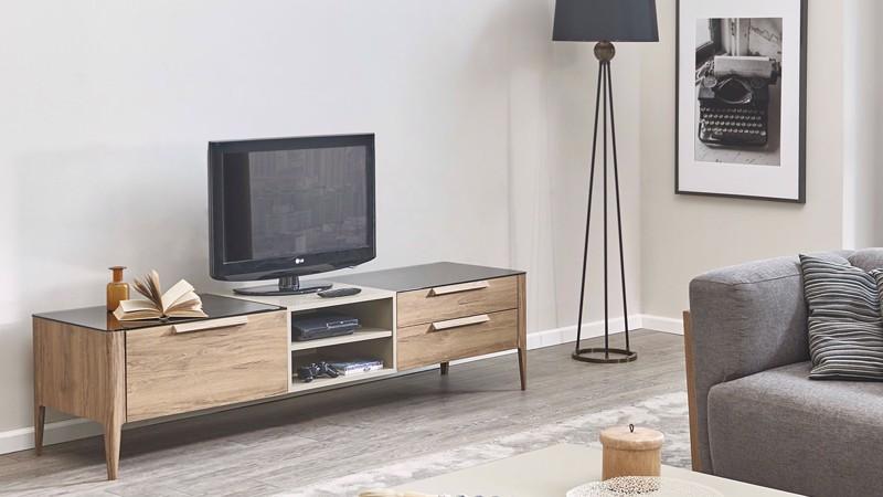 SIENTO TV ÜNİTESİ ALT MODÜL (200CM)