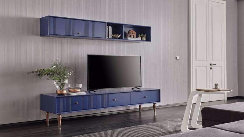 FLORIA TV UNIT (BLUE)