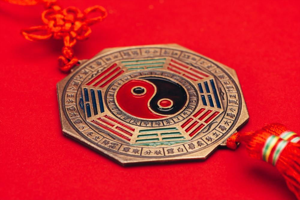 Chinese ying yang sign