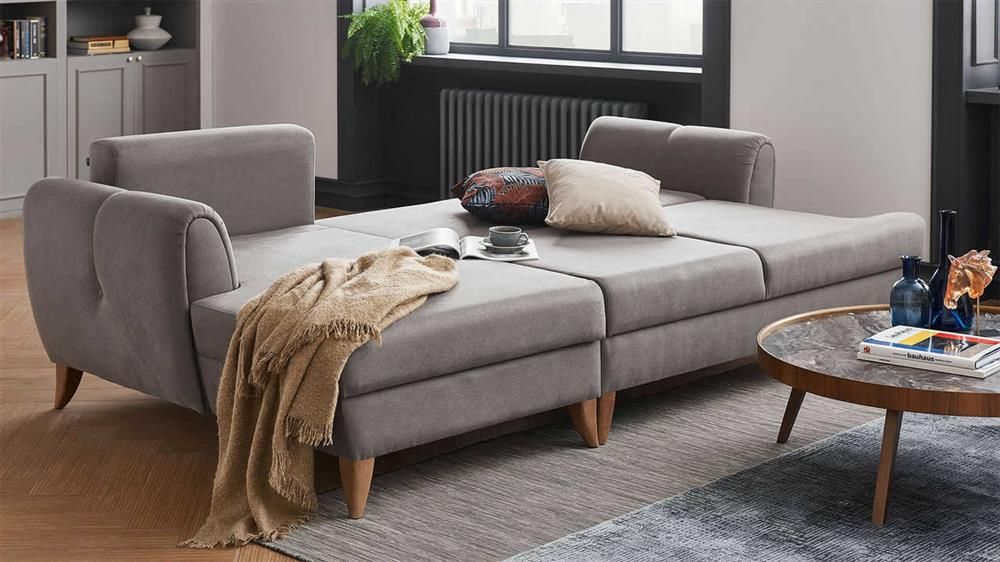 a sleeper sectional sofa for small spaces